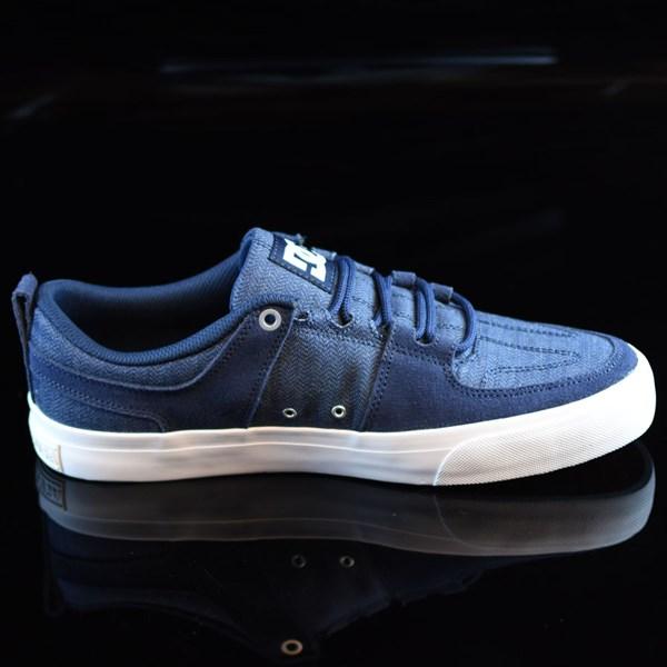 DC Shoes Lynx Vulc TX Shoes Navy Rotate 3 O'Clock