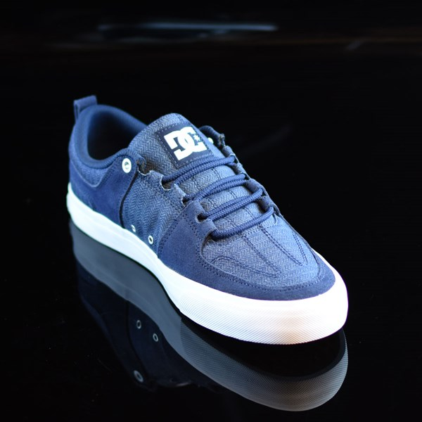 DC Shoes Lynx Vulc TX Shoes Navy Rotate 4:30