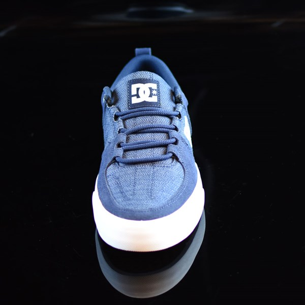 DC Shoes Lynx Vulc TX Shoes Navy Rotate 6 O'Clock