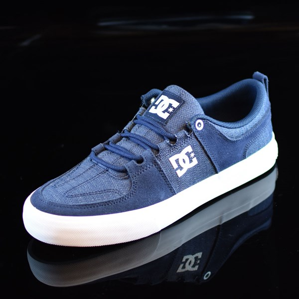DC Shoes Lynx Vulc TX Shoes Navy Rotate 7:30