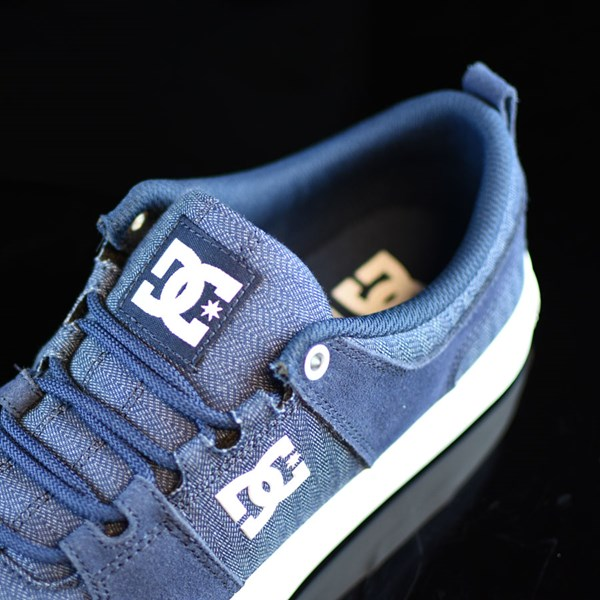 DC Shoes Lynx Vulc TX Shoes Navy Tongue