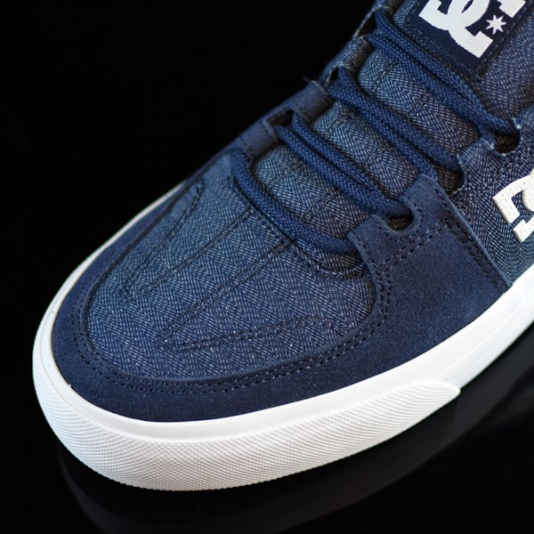 DC Shoes Lynx Vulc TX Shoes Navy Closeup