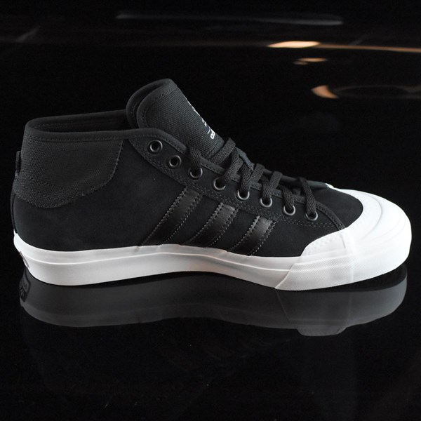 low priced 2d979 7e91e ... adidas Matchcourt Mid Shoes Black, White Rotate 3 OClock ...