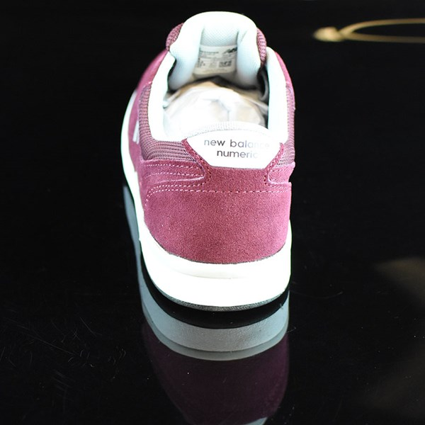 NB# Stratford Shoes Burgundy, Grey Rotate 12 O'Clock