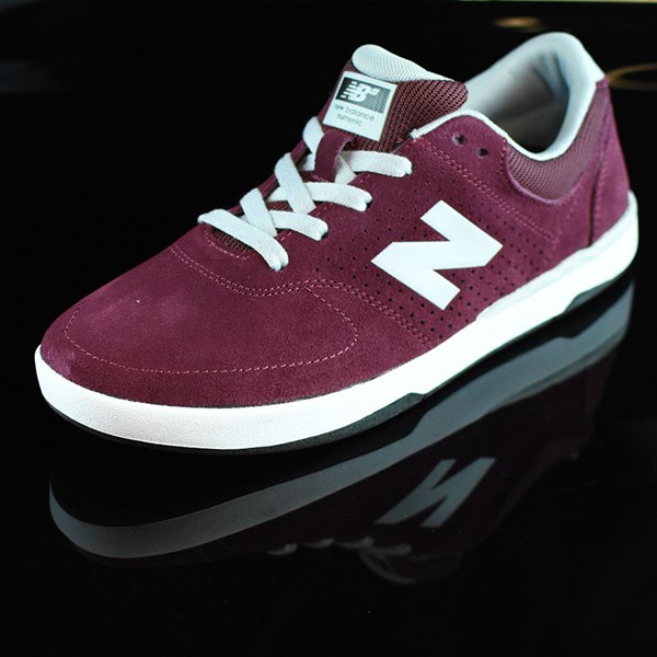 NB# Stratford Shoes Burgundy, Grey Rotate 7:30