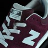 NB# Stratford Shoes Burgundy, Grey Tongue
