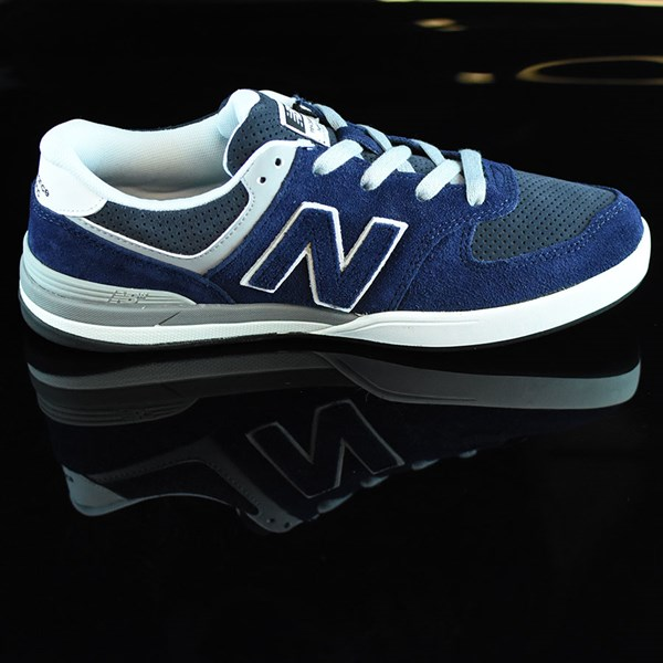 NB# Logan-S 636 Shoes Navy, Grey Rotate 3 O'Clock