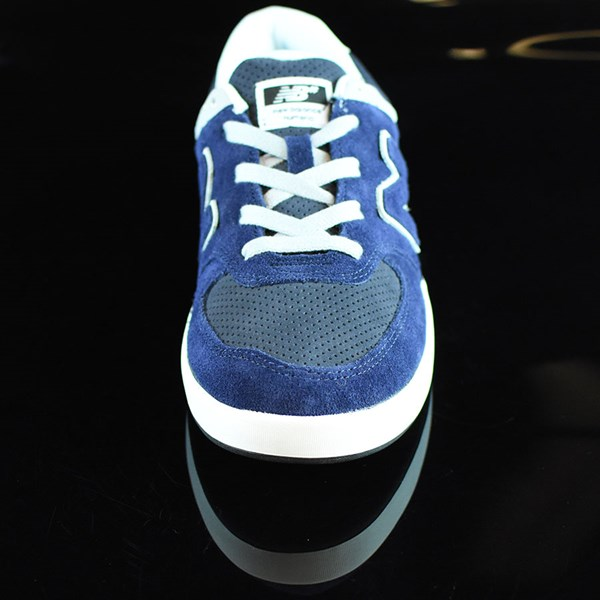 NB# Logan-S 636 Shoes Navy, Grey Rotate 6 O'Clock