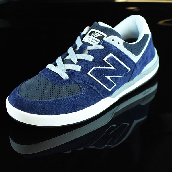 NB# Logan-S 636 Shoes Navy, Grey Rotate 7:30