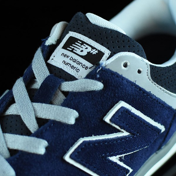 NB# Logan-S 636 Shoes Navy, Grey Tongue