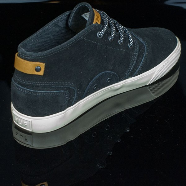 HUF Mercer Shoes Black, Cream Rotate 1:30