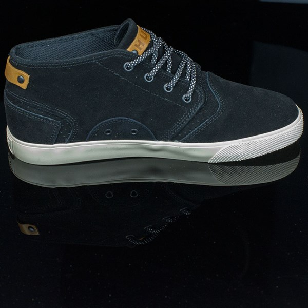 HUF Mercer Shoes Black, Cream Rotate 3 O'Clock