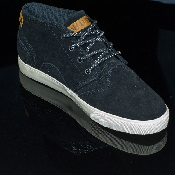 HUF Mercer Shoes Black, Cream Rotate 4:30