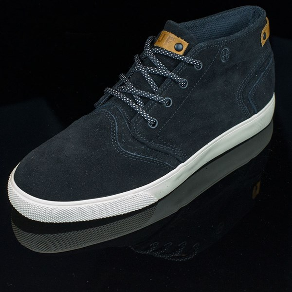 HUF Mercer Shoes Black, Cream Rotate 7:30