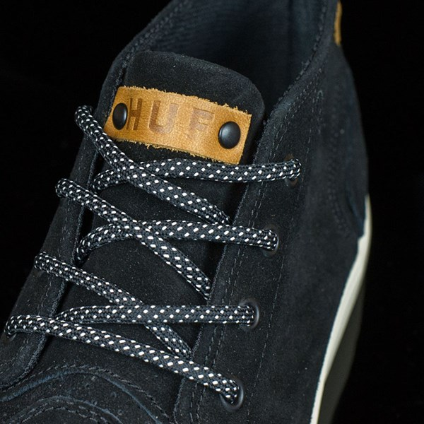 HUF Mercer Shoes Black, Cream Tongue