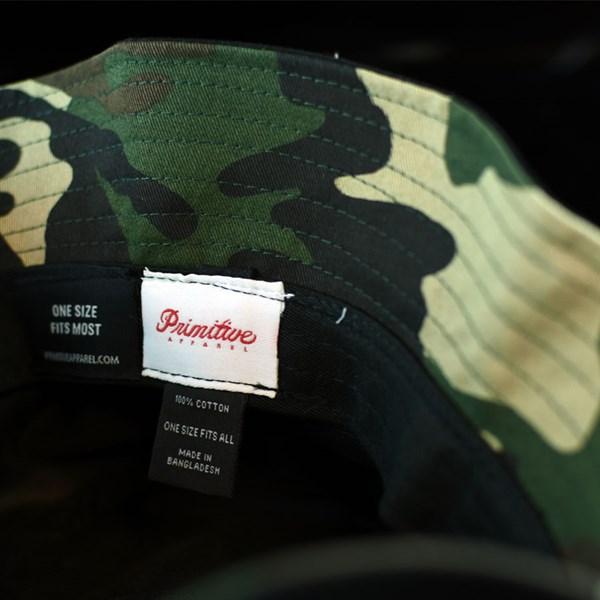 Primitive Game Killer Bucket Hat Black Under brim