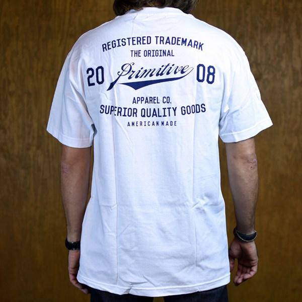 Primitive Registered T Shirt White Back
