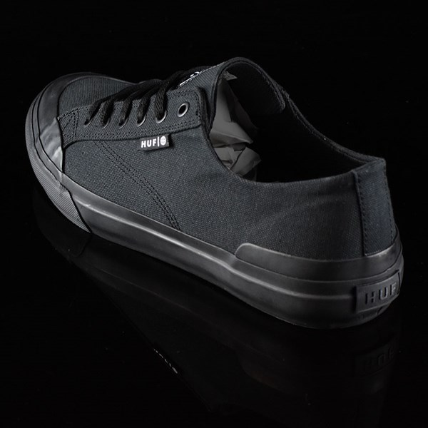 HUF Classic Lo Shoes Black, Black Rotate 7:30