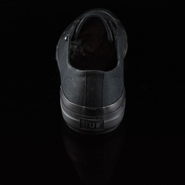 HUF Classic Lo Shoes Black, Black Rotate 12 O'Clock