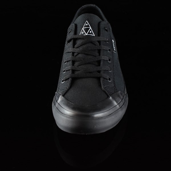 HUF Classic Lo Shoes Black, Black Rotate 6 O'Clock