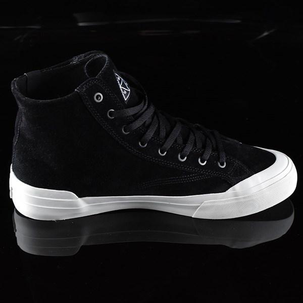 HUF Classic Hi Shoes Black, Bone Rotate 3 O'Clock