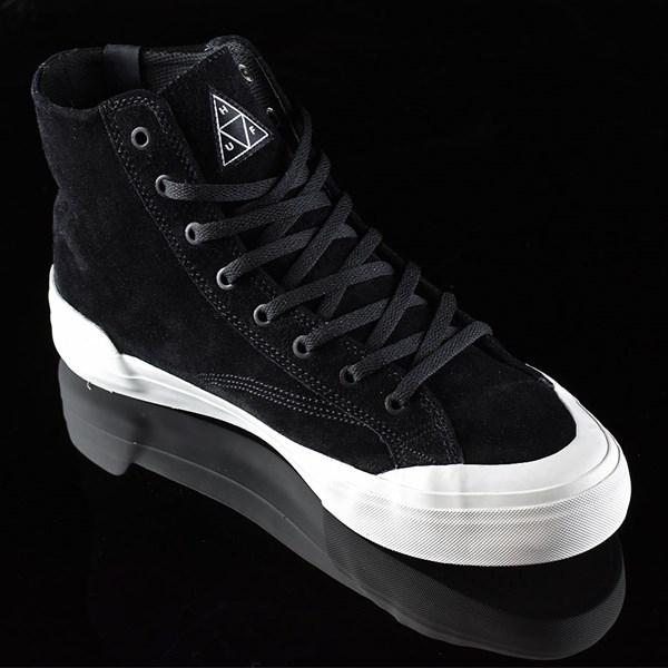 HUF Classic Hi Shoes Black, Bone Rotate 4:30