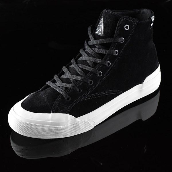 HUF Classic Hi Shoes Black, Bone Rotate 7:30