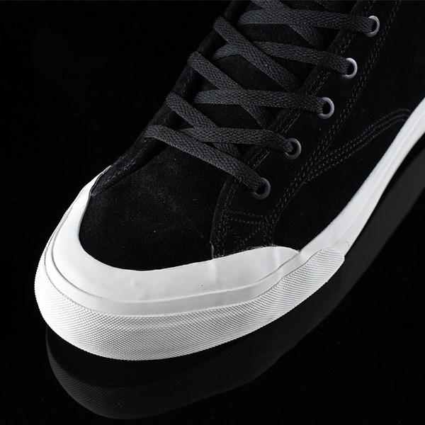 HUF Classic Hi Shoes Black, Bone Closeup