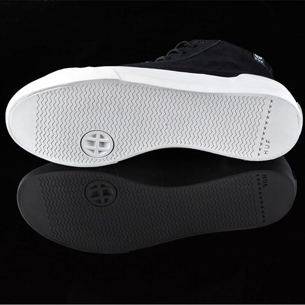 HUF Classic Hi Shoes Black, Bone Sole
