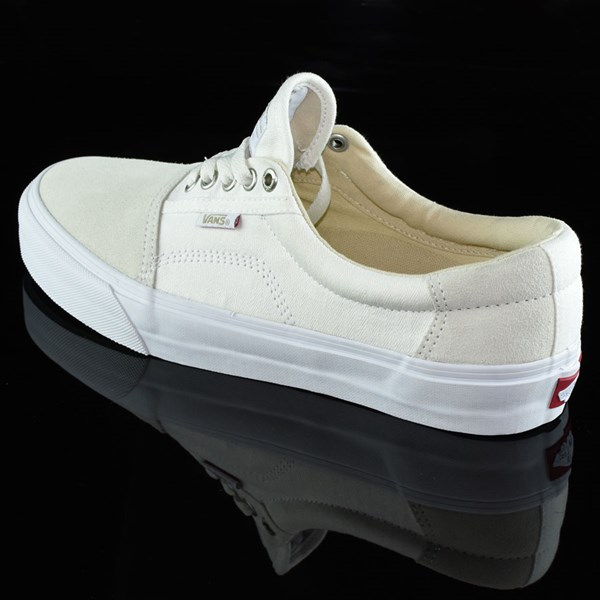 Vans Rowley Solos Shoes Herringbone White Rotate 7:30