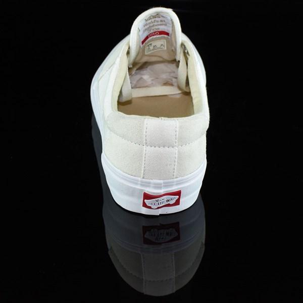 Vans Rowley Solos Shoes Herringbone White Rotate 12 O'Clock