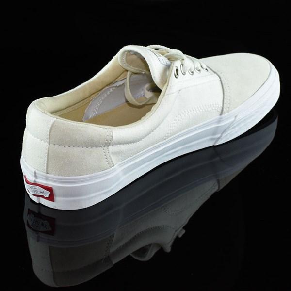 Vans Rowley Solos Shoes Herringbone White Rotate 1:30