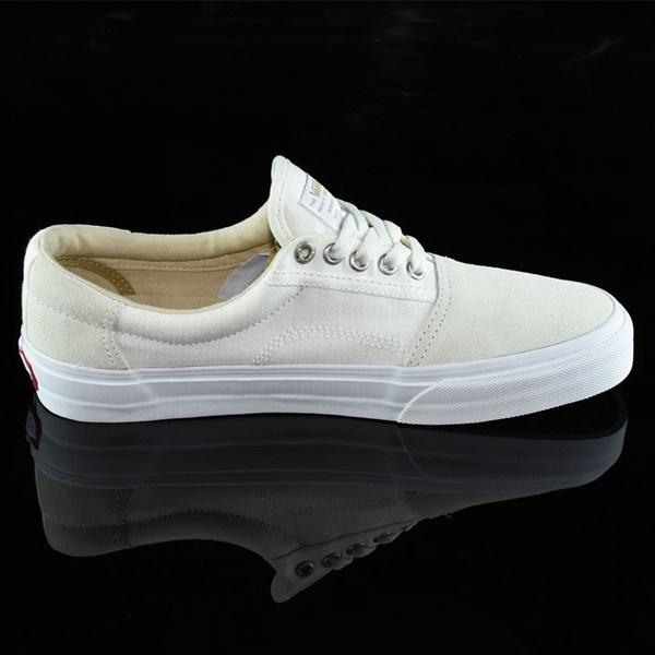 Vans Rowley Solos Shoes Herringbone White Rotate 3 O'Clock