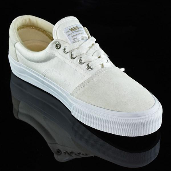 Vans Rowley Solos Shoes Herringbone White Rotate 4:30