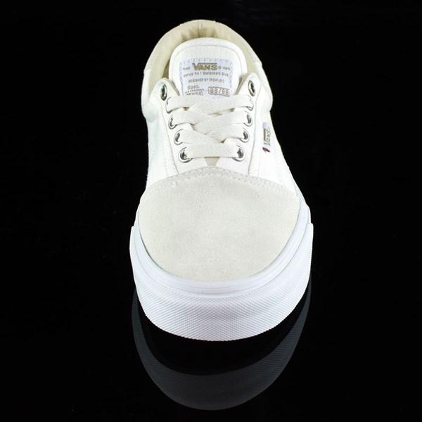 Vans Rowley Solos Shoes Herringbone White Rotate 6 O'Clock