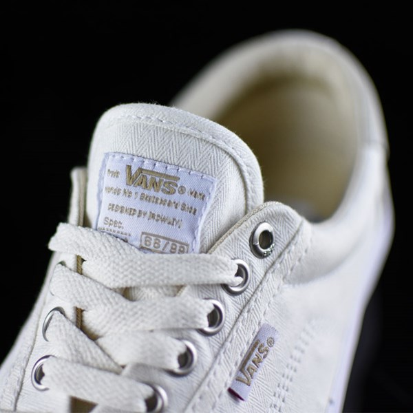 Vans Rowley Solos Shoes Herringbone White Tongue