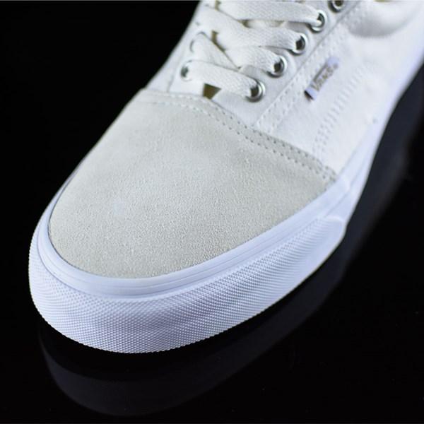 Vans Rowley Solos Shoes Herringbone White Closeup