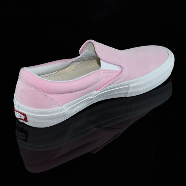 Vans Slip On Pro Shoes Candy Pink Rotate 1:30