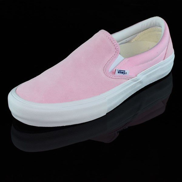 Vans Slip On Pro Shoes Candy Pink Rotate 7:30