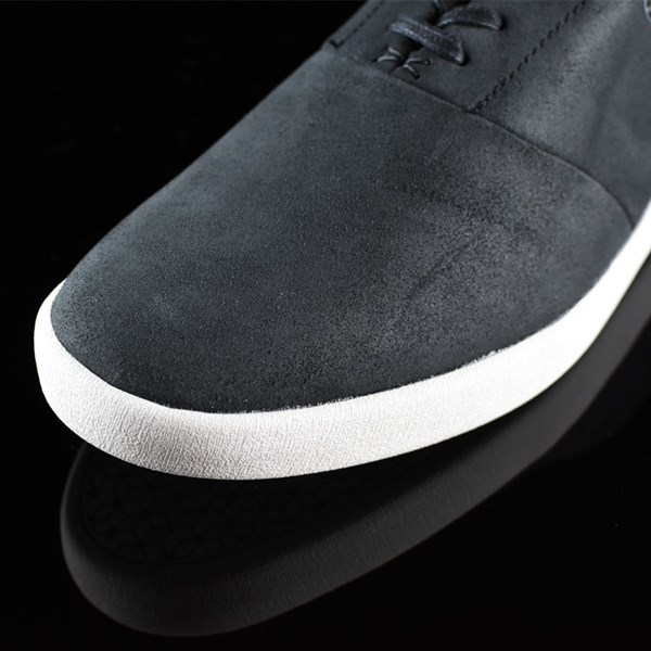HUF Austyn Gillette Pro Shoes Black Oiled Suede Closeup