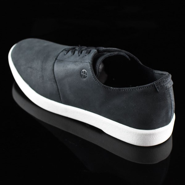 HUF Austyn Gillette Pro Shoes Black Oiled Suede Rotate 7:30