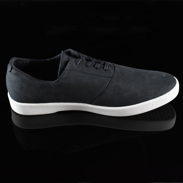 HUF Austyn Gillette Pro Shoes Black Oiled Suede Rotate 3 O'Clock