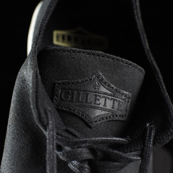 HUF Austyn Gillette Pro Shoes Black Oiled Suede Tongue