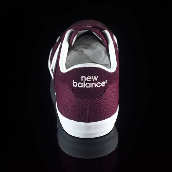 NB# Pro Court 212 Shoes Burgundy Rotate 12 O'Clock