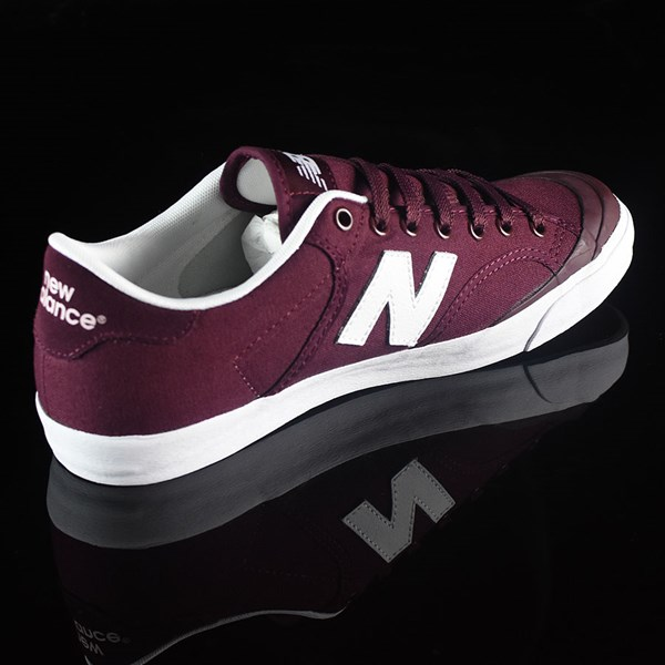 NB# Pro Court 212 Shoes Burgundy Rotate 1:30