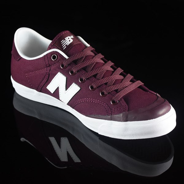 NB# Pro Court 212 Shoes Burgundy Rotate 4:30