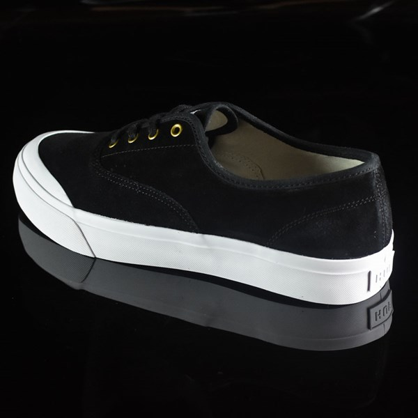 HUF Brad Cromer Pro Shoes Black, White Rotate 7:30
