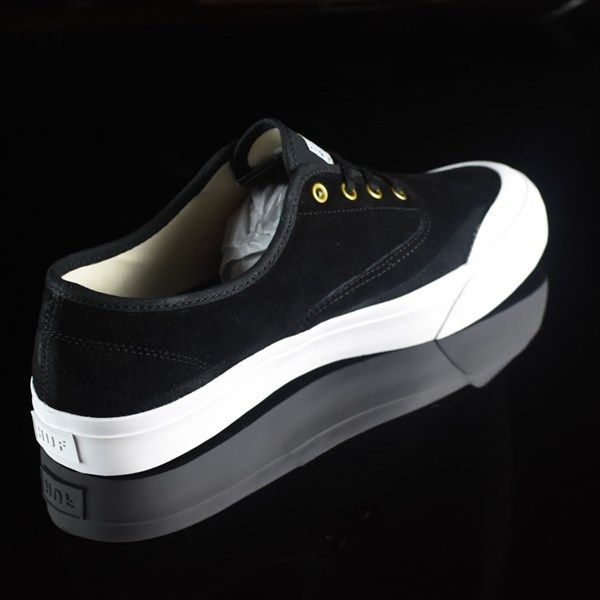 HUF Brad Cromer Pro Shoes Black, White Rotate 1:30