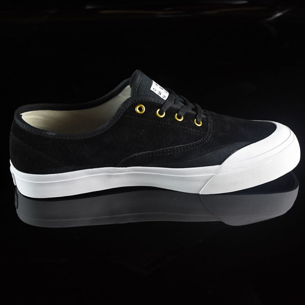 HUF Brad Cromer Pro Shoes Black, White Rotate 3 O'Clock