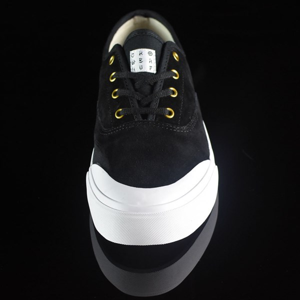 HUF Brad Cromer Pro Shoes Black, White Rotate 6 O'Clock
